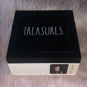 RAE DUNN | Wooden TREASURES Box